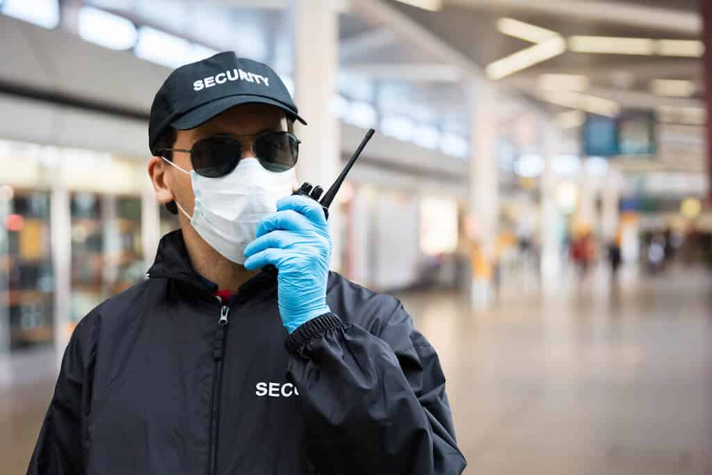 SSR Security Coronavirus pandemic private guard